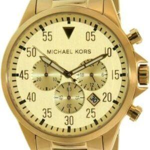 Michael Kors Men's Gage Gold Tone Stainless Steel
